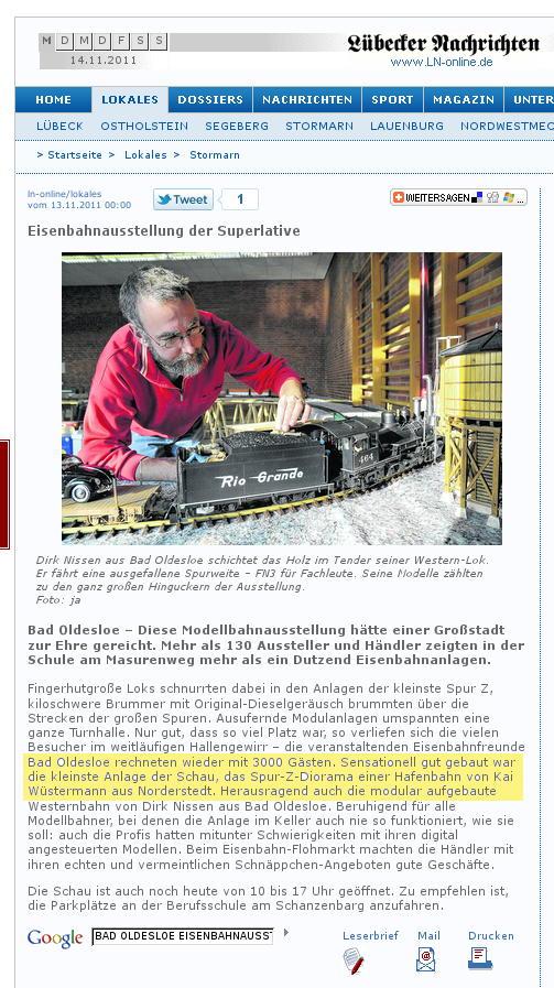 aus: ln-online 13.11.2011