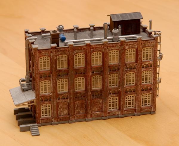 Aus diesem Gebäude soll eine repräsentative Fabrikanlage werden.