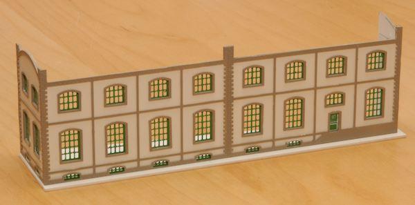 Der Weinhandel mit eingesetzten Fenstern