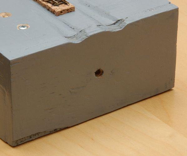 Das Testmodul mit 7 cm Höhe