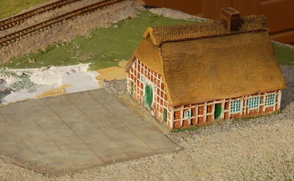 Das Bauernhaus mit Betonhof