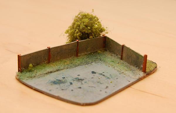 Die fertig gestaltete ''Landschaft''