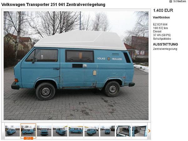 Der Vorbildbus Quelle: mobile.de