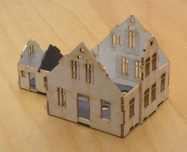 Papphaus für Papenhusen, Schritt 1 & 2