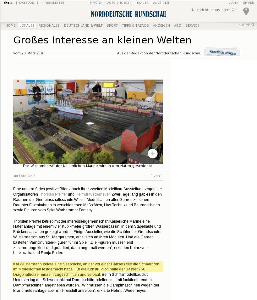 aus: https://www.shz.de/lokales/norddeutsche-rundschau/grosses-interesse-an-kleinen-welten-id13080616.html