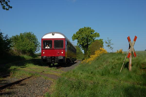 Fotofahrt mit dem GDT-Triebwagen 0518 der AVL