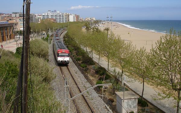 Regionalverkehr im Norden von Barcelona