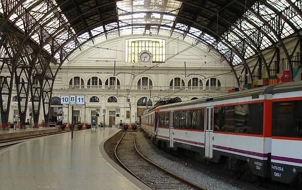 Estatió de Franca, Barcelona
