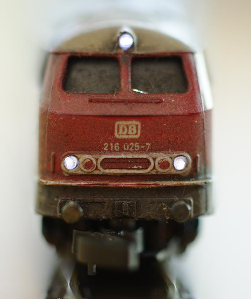 Beleuchtung für die BR 216