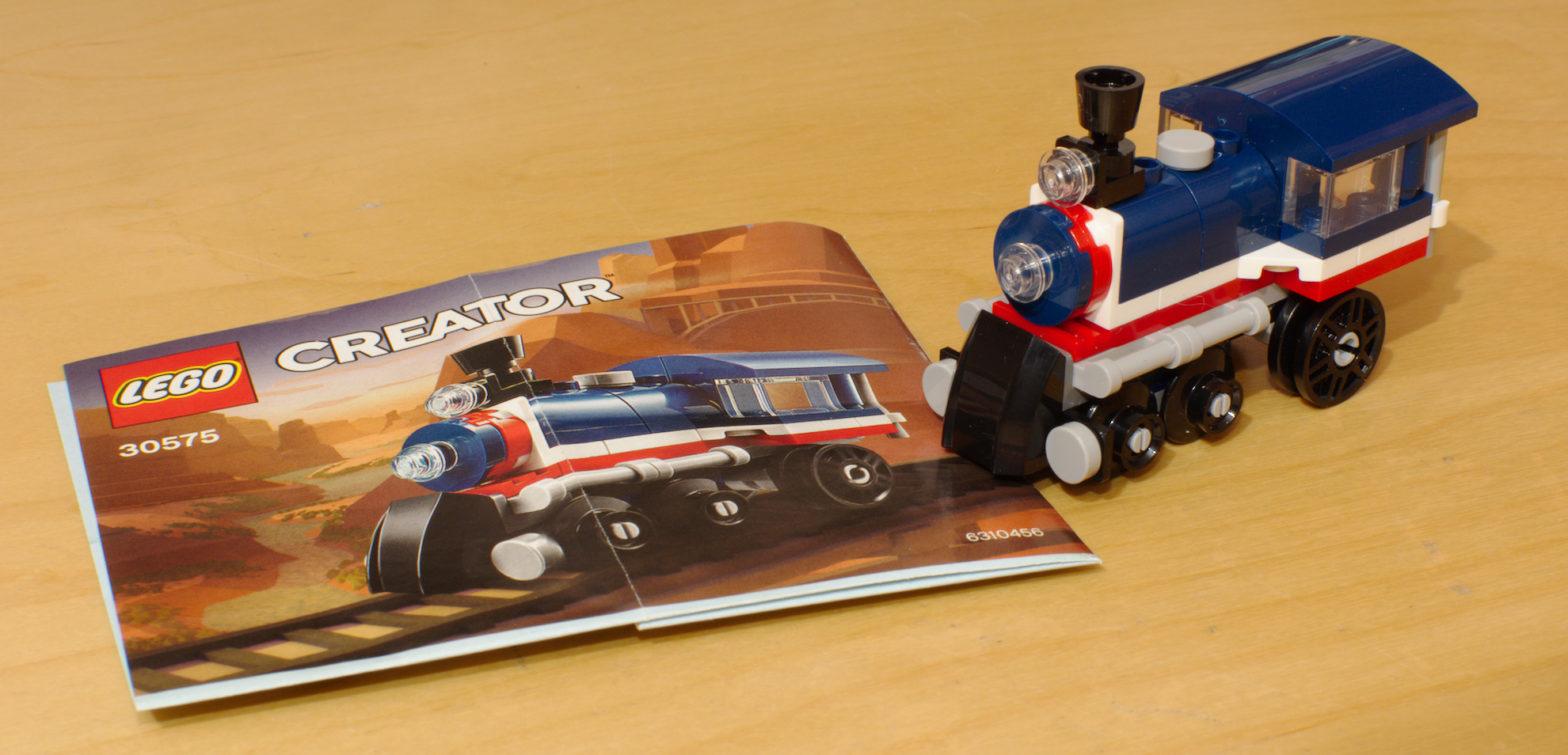 Lego-Dampflok