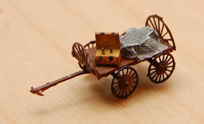 Der Wagen des Quacksalbers