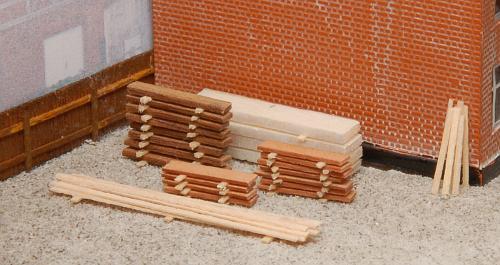 Der Holzlagerschuppen