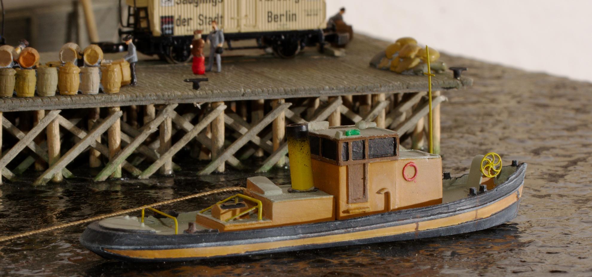 Noch ein Binnenschiff